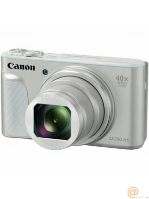 Camara digital canon powershot sx730 hs 20.3mp -  zoom 80x -  zo 40x -  3'' -  full hd -  wifi -  nfc -  silver