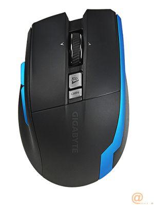 Mouse raton gigabyte aire m93 wifi 2000 dpi lasser recargable por usb