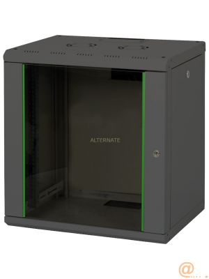 12U wall mounting cabinet, Unique 643x600x450 mm, color bl