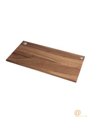 Tablero para mesa regulable en altura Levado Nogal 180x80cm