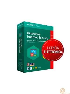 KASPERSKY Internet Security 1 User 1 año LICENCIA ESD