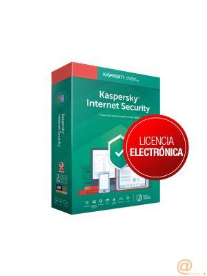 KASPERSKY INTERNET SECURITY MULTIDEVICE 2020 3 Lic. 2 a?os ELECTRONICA
