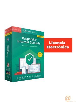 KASPERSKY INTERNET SECURITY MULTI-DEVICE 3 LICENCIAS 1 AÑO  RENOVACIÓN **L. ELECTRONICA.