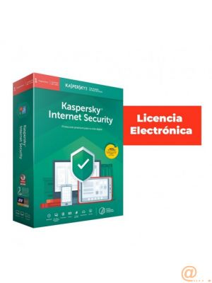KASPERSKY Internet Security 10 Users 1 año LICENCIA ESD