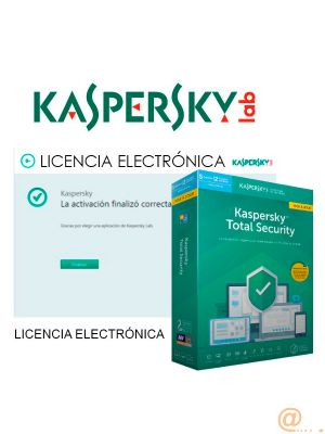 KASPERSKY TOTAL SECURITY - MULTI-DEVICE SPANISH EDITION. 5-DEVICE 1 YEAR RENEWALL LICENSE PACK **L. ELECTRÓNICA