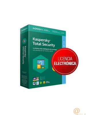 KASPERSKY TOTAL SECURITY - MULTI-DEVICE SPANISH EDITION. 5-DEVICE 1 account KPM + 1 KSK 1 YEAR BASE LICENSE PACK **L. ELECTRÓNICA