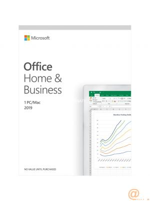 Microsoft Office Home and Business 2019 - caja de embalaje - 1 PC / Mac Inglés 1 PC / Mac Sin materiales