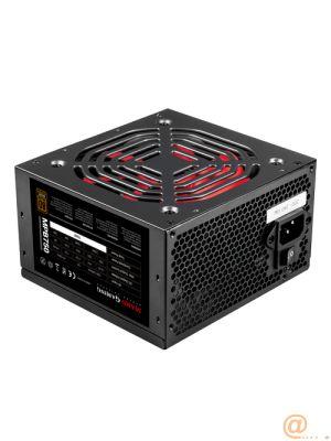 FUENTE DE ALIMENTACIÓN ATX MARS GAMING MPB750 - 750W - VENTILADOR 120MM - 10DB - EFICIENCIA 80 PLUS BRONCE 230V - NEGRA/ROJA - TECNOLOGÍA SILENTRPM