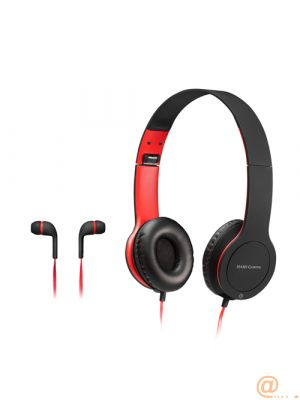 PACK COMBO 2 EN 1 MARS GAMING MHCX - AURICULARES CON MICRÓFONO IN-EAR JACK 3.5MM + AURICULARES CON MICRÓFONO OVER-EAR JACK 3.5MM
