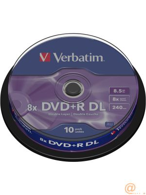 DVD+R DOUBLE LAYER 8X 8.5GB