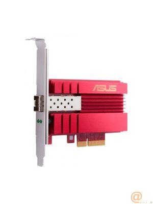TARJETA DE RED ASUS XG-C100F,PCI-E,10GBASE-LR/SR FIBRA,10G SFP+,STYLISH COOLING HEATSINK