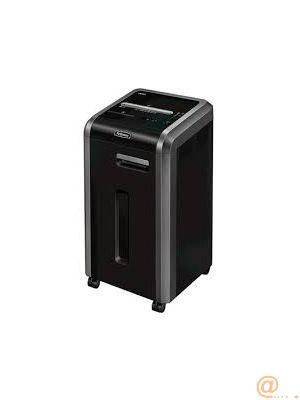 DESTRUCTORA  FELLOWES 225CI - CORTE EN PARTICULAS 4X38MM - ANTIATASCOS - SAFESENSE - DESTRUCCION SILENCIOSA - CAPACIDAD PAPELERA 60L