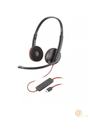 Plantronics Blackwire C3220 USB-C Auricular Biaural para Microsoft