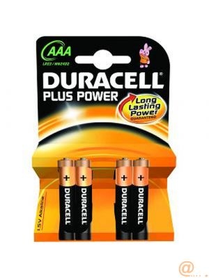 Duracell Plus AAA 4 Pack