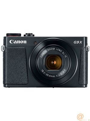 Camara digital canon powershot g9x mark ii 20.1mp -  3pulgadas -  zo 3x -  bluetooth -  wifi -  nfc activo -  negro