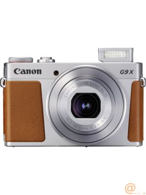 Camara digital canon powershot g9x mark ii 20.1mp -  3pulgadas -  zo 3x -  bluetooth -  wifi -  nfc activo -  plata