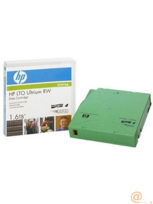 HPE Data Cartridge LTO-4 - 1 Pack - 800 GB (Native) / 1.60 TB (Compressed)  *  Retail  *