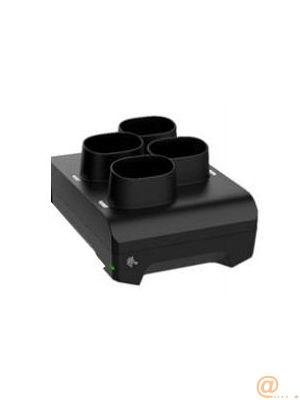 Zebra Cargador de Baterias 4 Bahías para Escáner de Código de barras: CS60, CS6080, CS60-HC